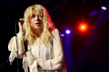Courtney Love Performs During Anniversary For Vinyl Inside The Hard Rock In Las Vegas