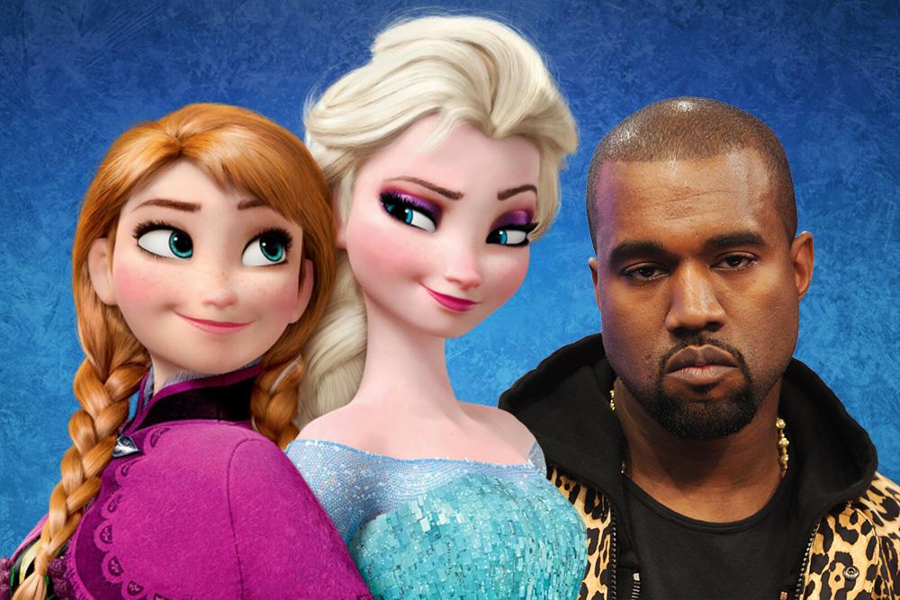 Kanye Frozen