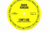 Lindstrom's Remix of Mark Ronson's 'I Can't Lose' Will Funk You Up