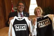 Canadian Politicians Jack the Nine Inch Nails Logo