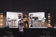 Ezra Koenig Joins Chromeo Onstage at Governors Ball for 'Cape Cod Kwassa Kwassa'