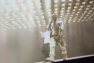 Comedian Crashes Kanye West's Glastonbury Performance