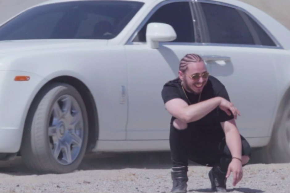 Post Malone Goes Hooping In The Desert For White Iverson