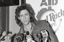 Bob Geldof in 1985