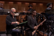 Giorgio Moroder Sat in With the Roots on 'Fallon'
