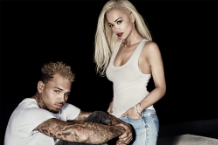 Rita Who and Chris Brown