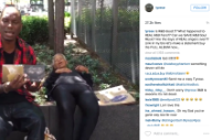 R&B Singer Tyrese Uses Homeless Person as a Prop to Shill New Album