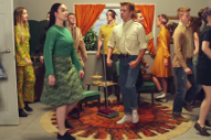 Belle & Sebastian Host a Mid-Century Soiree in 'Perfect Couples' Video