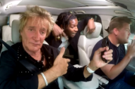 A$AP Rocky and Rod Stewart Did a Karaoke Version of 'Everyday' in a Car