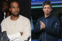 kanye west noel gallagher glastonbury