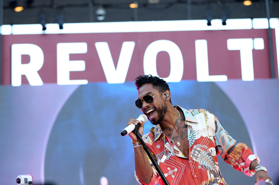 REVOLT Live Takeover With Miguel