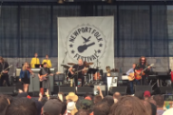 My Morning Jacket Joined Roger Waters at the Newport Folk Festival