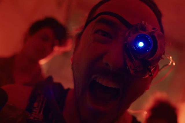 Steve Aoki is a Cyborg in Fancy, Dystopian 'Neon Future