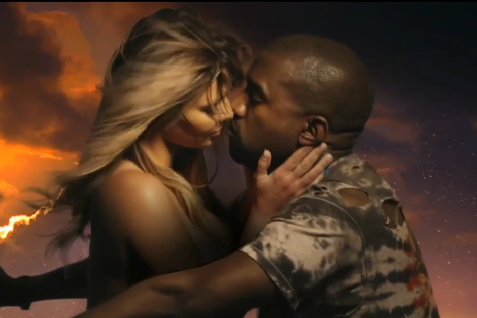 Kanye West's Bound 2 video