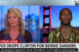Lil B Discusses Bernie Sanders and Black Lives Matter on CNN