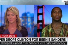 Lil B and CNN host Brooke Baldwin