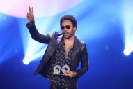 Lenny Kravitz' Representatives Reportedly Threaten Legal Action Over Penis Photos