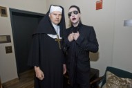 Here's Billy Corgan and Marilyn Manson Singing 'Girls Just Wanna Have Fun' as Nuns and a Preacher