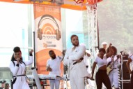 Janelle Monáe and Jidenna Do 'Yoga' Together on 'The Today Show'