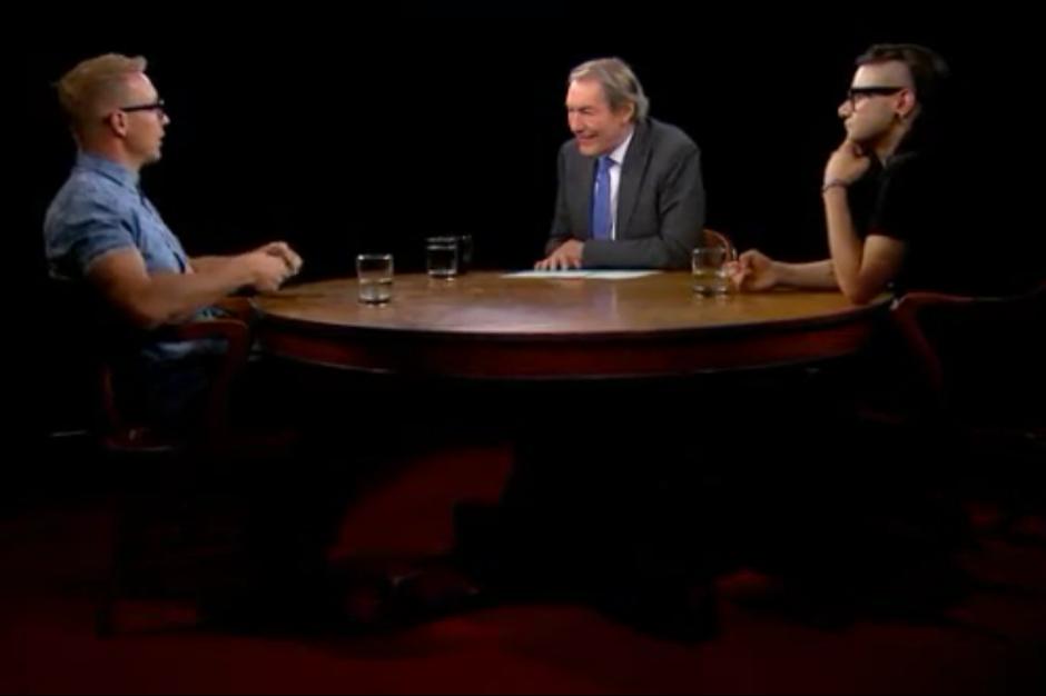 Skrillex and Diplo on Charlie Rose