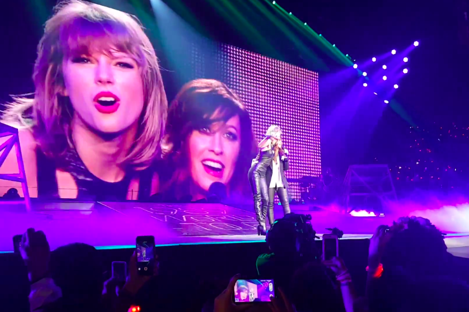 Taylor Swift and Alanis Morissette