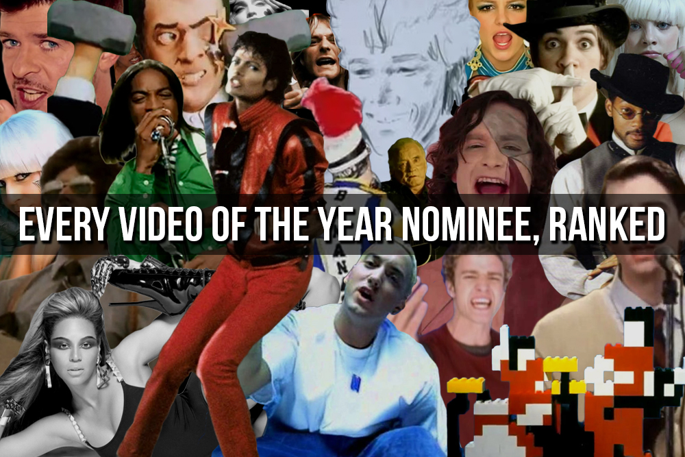 MTV VMAs Every Video Ranked