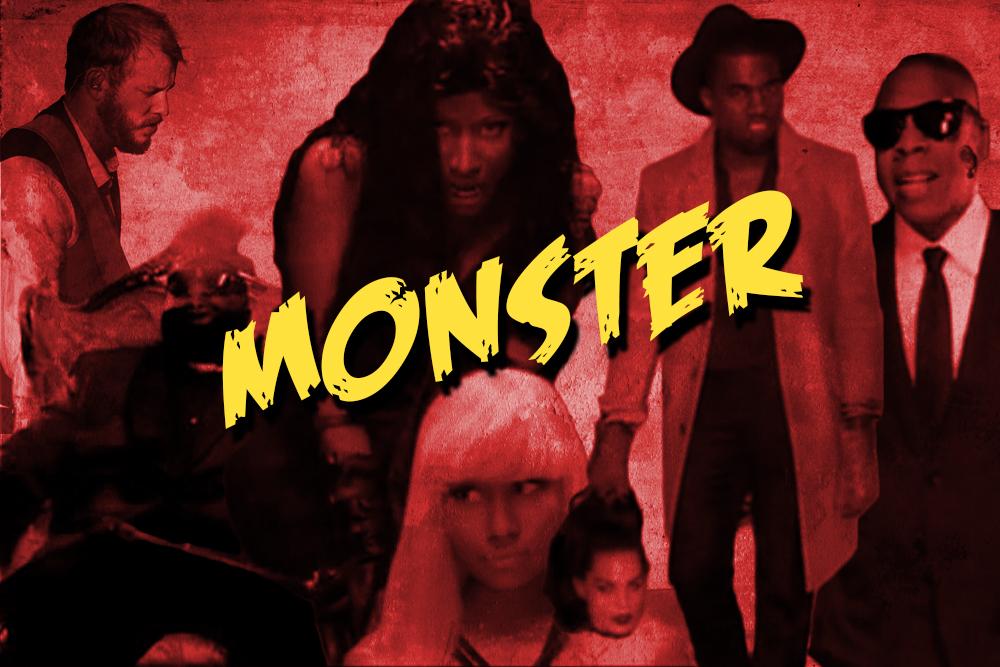 Monster Music Video Kanye West 5