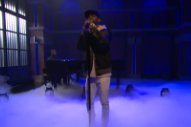 Big Sean Shows 'Late Night' That 'One Man Can Change the World'