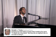 Josh Groban Sings Donald Trump's Buffoonish Tweets on 'Kimmel'