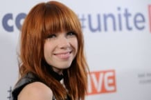 Carly Rae Jepsen on October 3, 2013 in Las Vegas, Nevada.