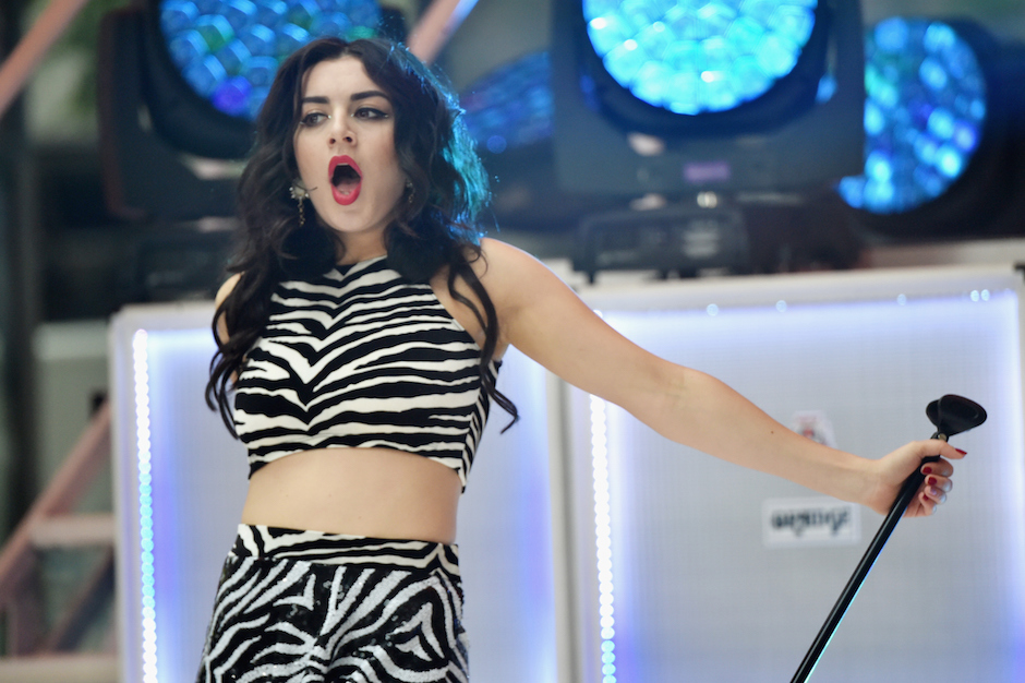 Charlie XCX Performs On NBC's