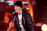 LOS ANGELES, CA - JANUARY 31:  Rapper Eminem performs onstage during the 52nd Annual GRAMMY Awards held at Staples Center on January 31, 2010 in Los Angeles, California.  (Photo by Kevin Winter/Getty Images) *** Local Caption *** Eminem