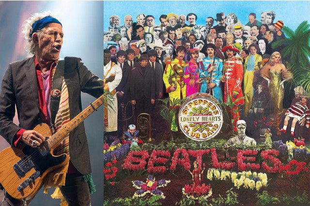 keith richards rubbish sgt pepper