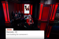 Kelly Clarkson Sang Embarrassing Tinder Profiles on 'Kimmel' Last Night