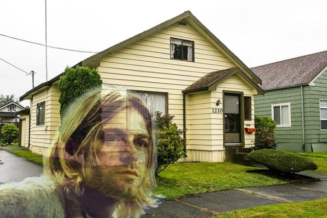 nirvana, kurt cobain, childhood home