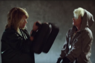 Kim Gordon Beats Peaches Into Shape in Their Wild, Wrestling-Themed 'Close Up' Video