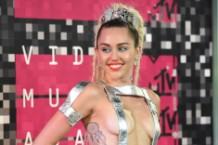 Miley Cyrus at the MTV VMAs