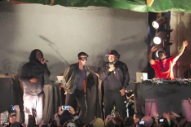 A Masked Damon Albarn Joined De La Soul at Banksy's Dismaland for 'Feel Good Inc'