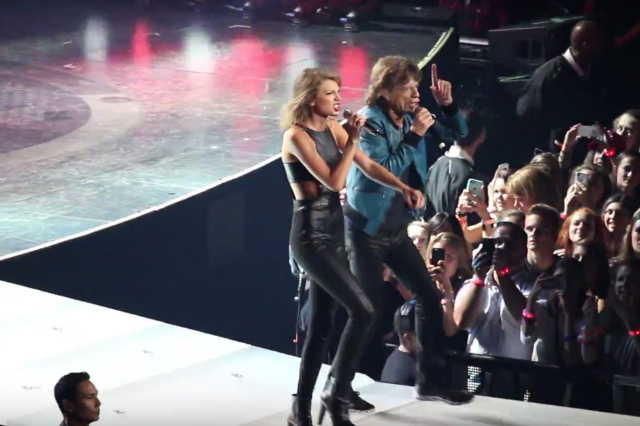 Taylor Swift Enlisted Mick Jagger for a Performance of the
