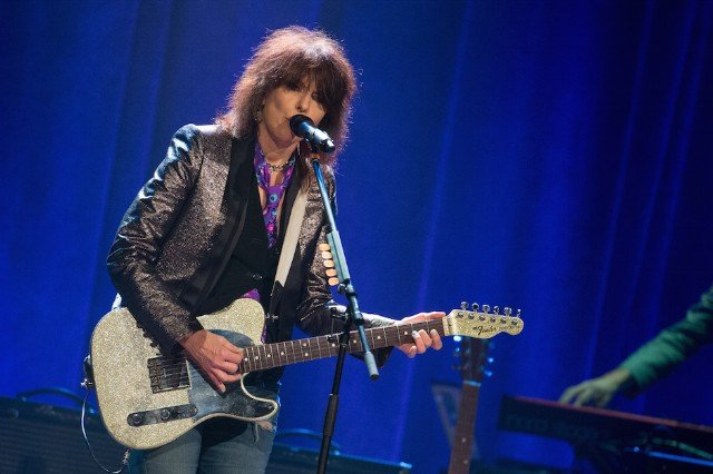 Chrissie Hynde With The Rails In Concert - Nashville, Tennessee