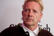 John Lydon at Glenfiddich Mojo Honours List 2011