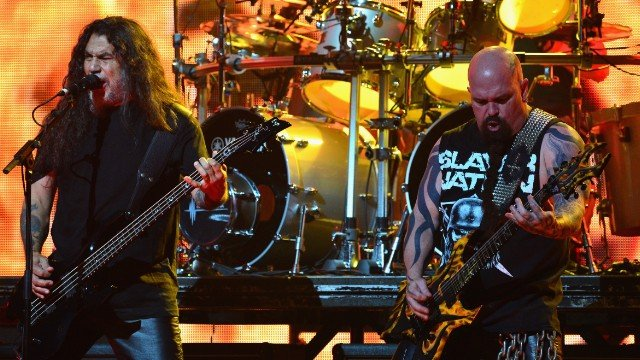 Slayer at the 6th Annual Revolver Golden Gods Award Show