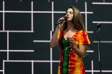 Lana Del Rey at Glastonbury Festival