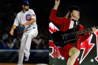 Chicago Cubs Made Three Errors Yesterday, and It's All AC/DC's Fault