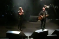 Brandon Flowers Brought Pet Shop Boys' Neil Tennant Onstage for 'Rent'