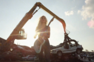 Bully Shred Guitars (and Junked Cars) in 'Too Tough' Music Video