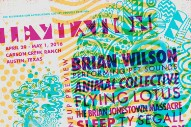 Levitation Festival 2016 Lineup: Brian Wilson, Animal Collective, Flying Lotus, and More