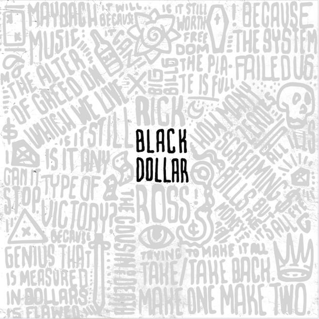 Rick Ross Black Dollar Mixtape