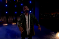 Big Sean Inspires 'Late Late Show' With Uplifting 'One Man Can Change the World'