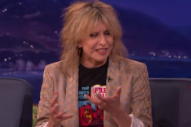 Chrissie Hynde Talks New Memoir, MTV's Early Days, and More on 'Conan'